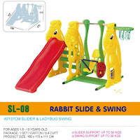 Slide and Swing Ching Ching SL08 Rabbit