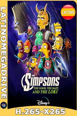 Los Simpson: La buena, el malo y Loki (2021) DSNP [WEB DL 1080P x265] Latino [GoogleDrive] [Mega] DizonHD