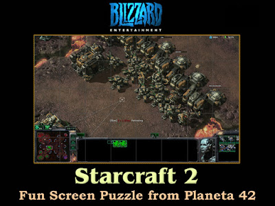 StarCraft 2 Screen Puzzle