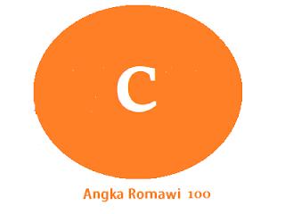 Angka Romawi 100 adalah...