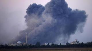 KEJAM! Rezim Syiah Nushairiyah Hujani Suriah Selatan dengan Ratusan Bom