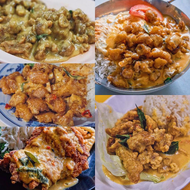 6 Salted Egg Chicken To Be Tasted In Singapore