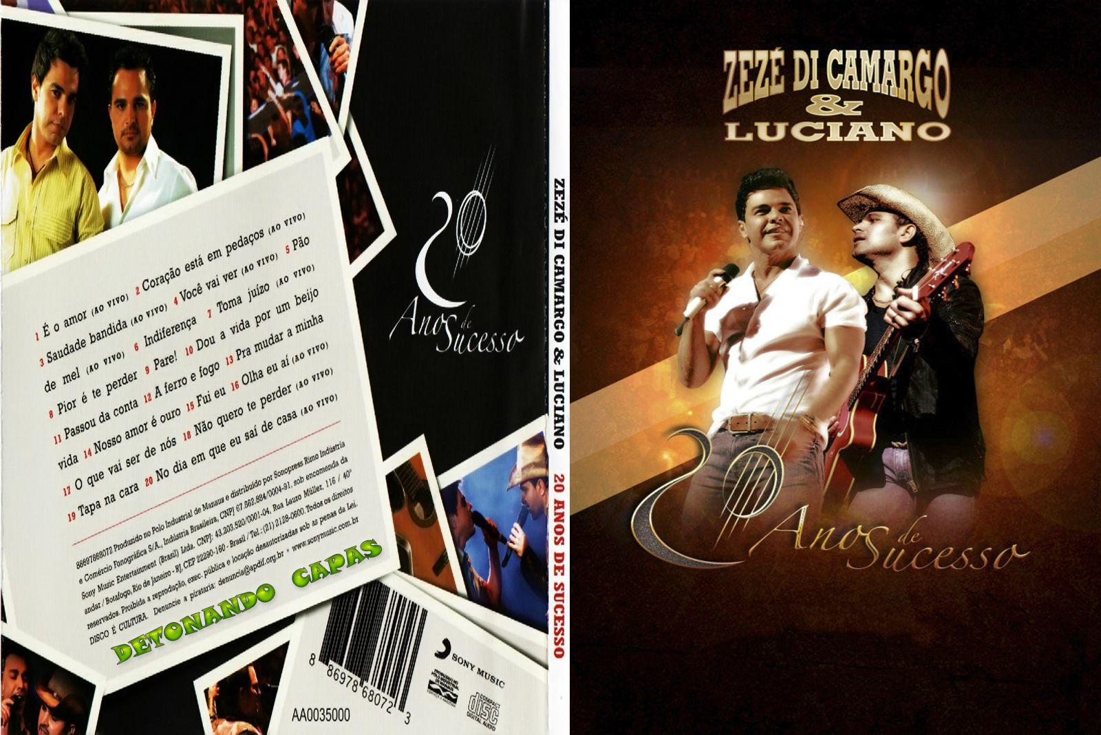 ANOS E 20 CAMARGO DVD-R BAIXAR DI LUCIANO ZEZE