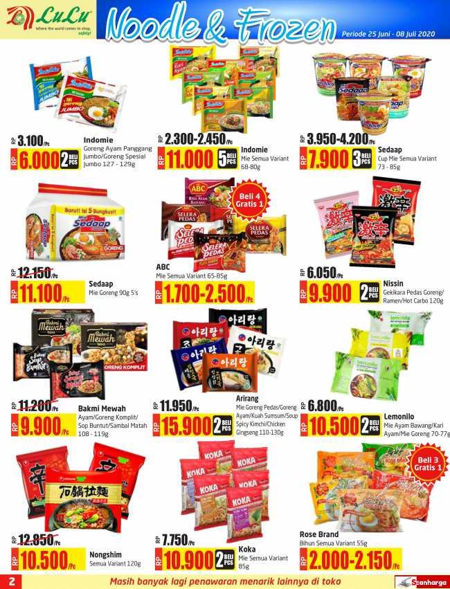 Katalog Promo LULU Supermarket 25 Juni - 8 Juli 2020 2