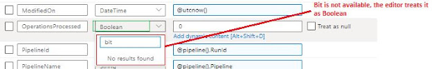 bit to boolean in stored procedure parameter