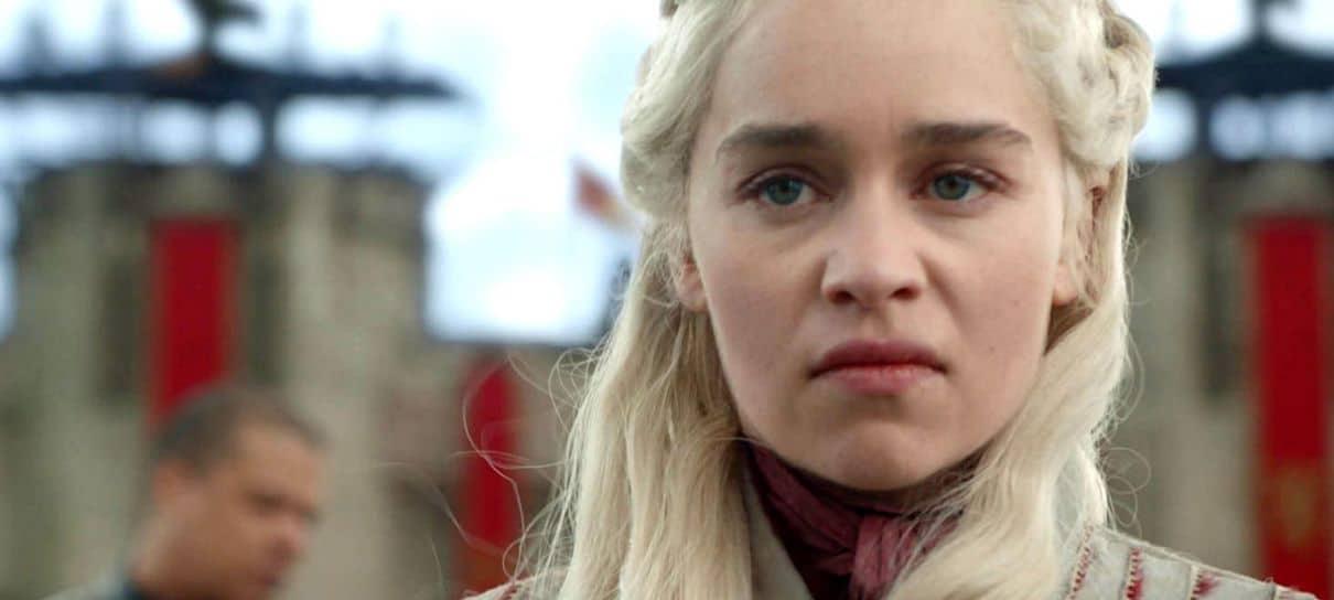 Emilia Clarke NÃO GOSTOU do final da Daenerys