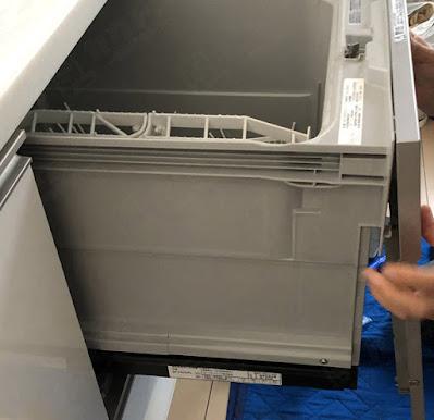 ビルトイン食洗機のレバー故障・パネルひび割れ修理レビュー