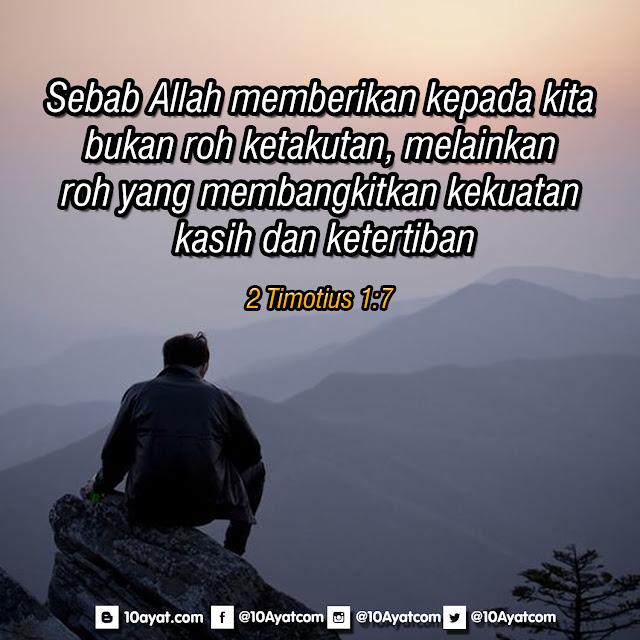 2 Timotius 1:7