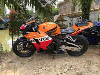 Honda CBR 600 Dijual Lokasi DI Jambi