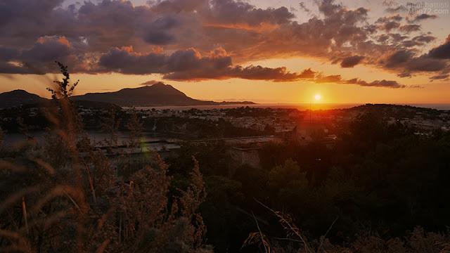 Panorama di Ischia vista da Procida