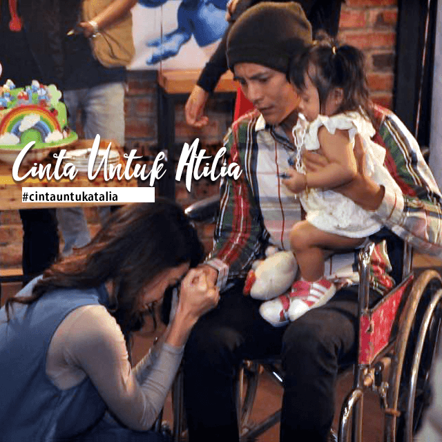 Telemovie Cinta Untuk Atilia Lakonan Nazim Othman, Raysha Rizrose