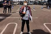 Atlet Indonesia Gak Lolos, Boy Pohan Mulai Jalani Rutinitas Sebagai Wasit Tinju di Tokyo