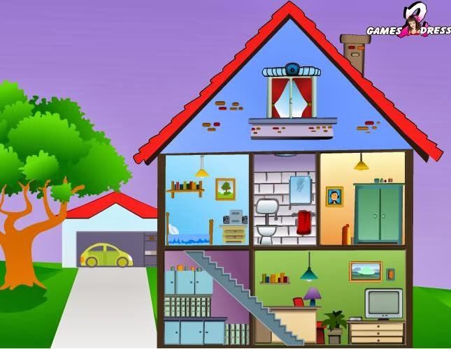 Maestra de primaria planos de viviendas dependencias de for Casa y muebles en ingles