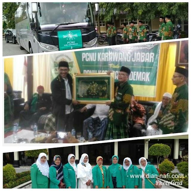 Studi Banding PCNU Karawang dan Jakarta Utara Ke Demak