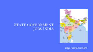 Latest State Govt Jobs Opening