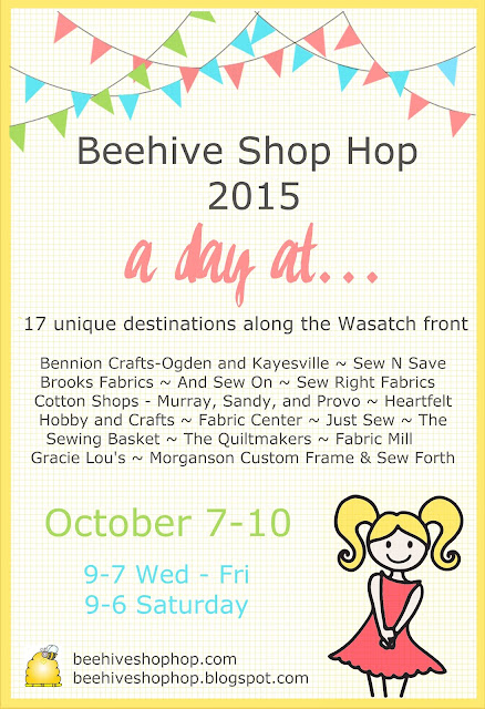 Beehive Shop Hop: Beehive Shop Hop is Here!