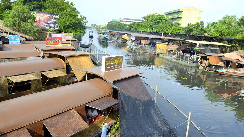 Floating Market at Kwan Riam, Minburi, Bangkok