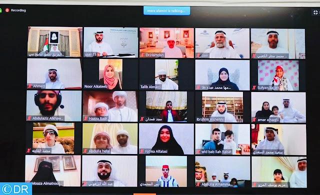 """تتويج 5 قراء مغاربة بجائزة """"التحبير للقرآن الكريم وعلومه 2020"""" بأبوظبي عبر تقنية """"الفيديو عن بعد""""✍️👇👇👇"""