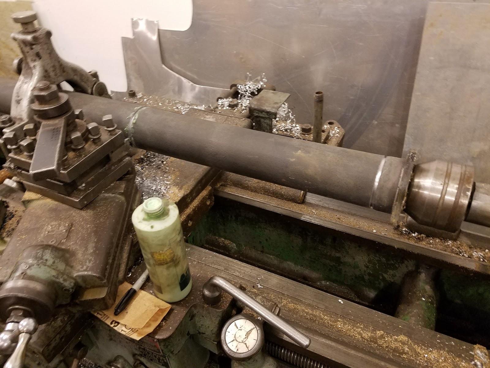 Vintage Metalworks: Torque tube shortening