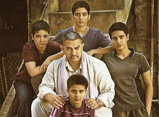 Aamir Khan with star cast in Dangal Movie Poster
