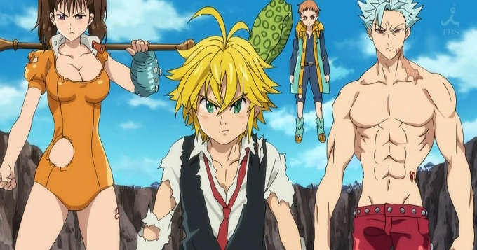 Nanatsu No Taizai 7 Pecados Capitales Links De Descarga