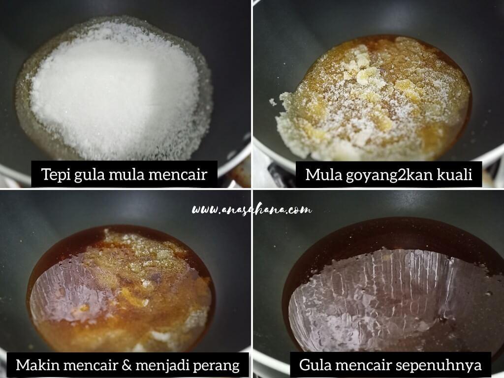 Resipi Kek Sarang Semut Sukatan Cawan Step by Step