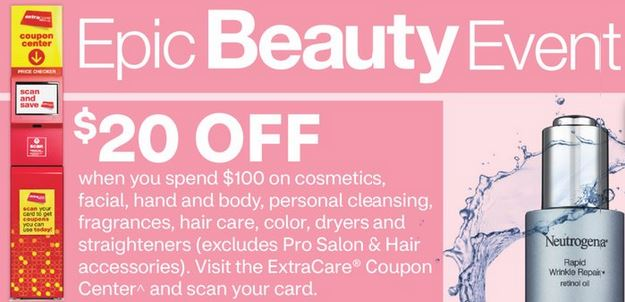 CVS Epic Beauty Event Freebie Deal