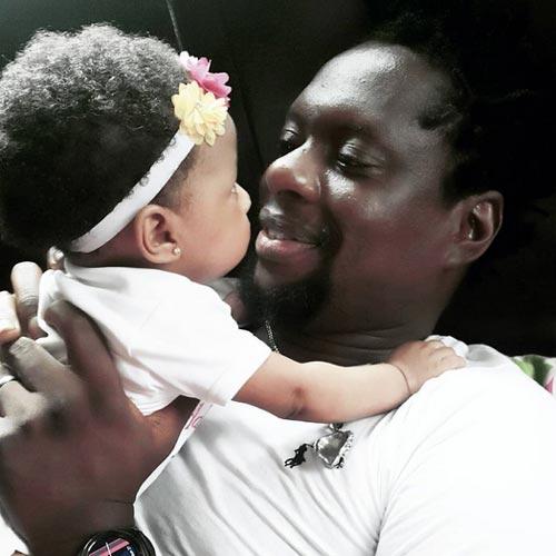 Comedian Klint Da Drunk Shares Adorable Moment With Newborn Daughter