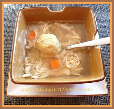 Crockpot Chicken Soup | recipe developed by www.BakingInATornado.com | #recipe #soup