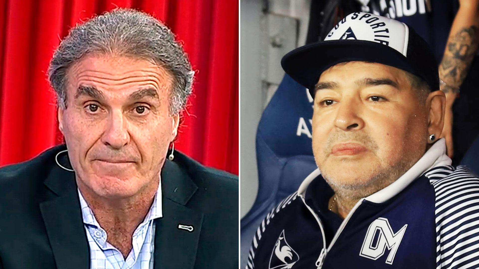 """Oscar Ruggeri indignado tras haber escuchado los audios del médico de Maradona: """"Lo usaron"""""""