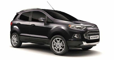 New 2016 Ford EcoSport Black view crossover