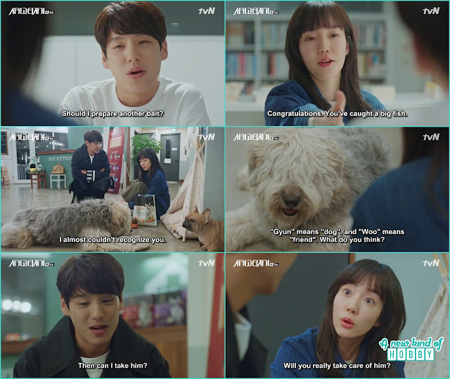 Tae Min ask to become the guardian of the starry dog - Chicago Typewriter: Episode 6