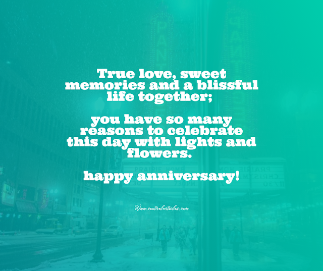 True love, sweet memories and a blissful life together
