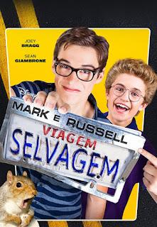 Mark e Russell: Viagem Selvagem - HDRip Dual Áudio