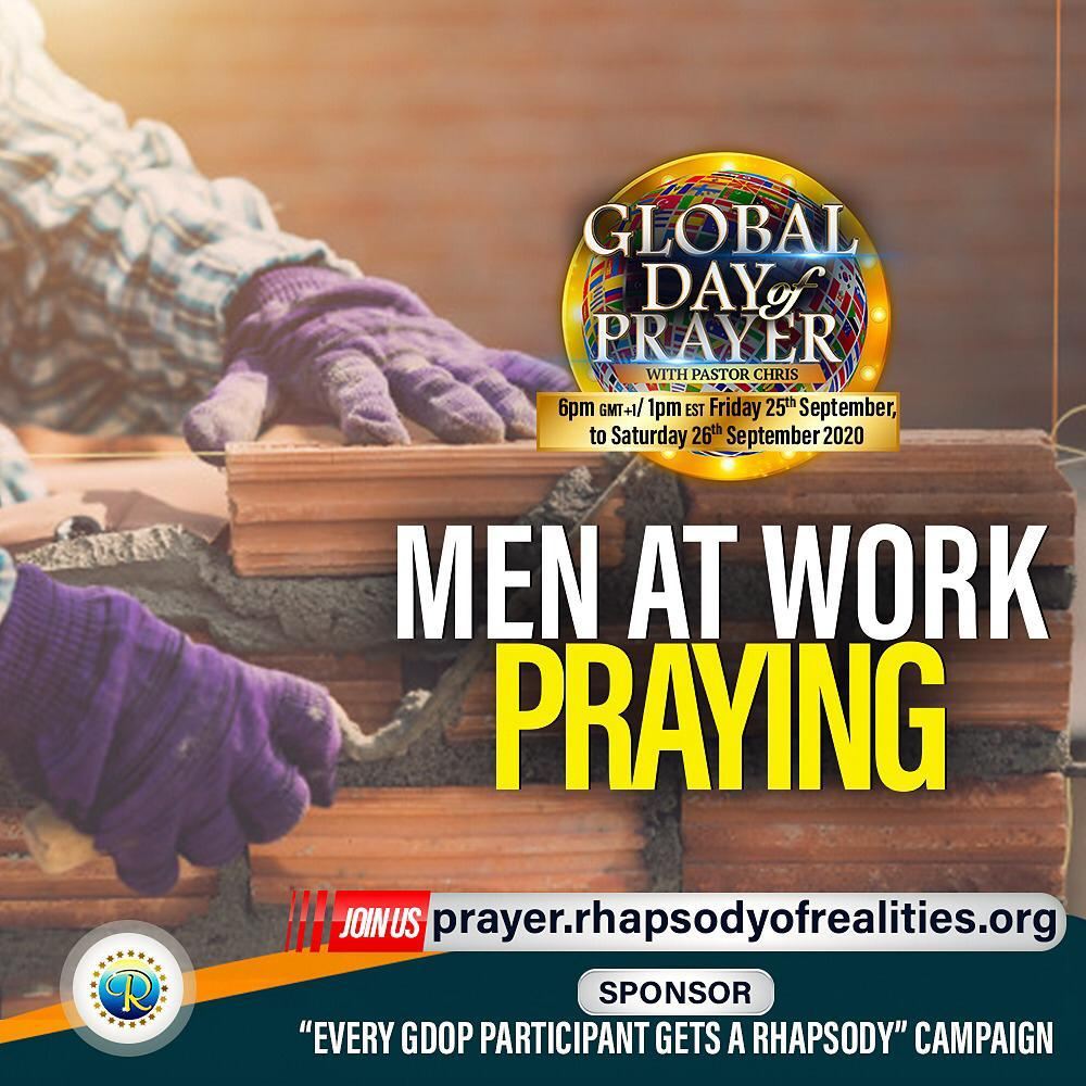 Global Day of Prayer With Pastor Chris!