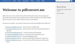 Servizio pdfconvert.m