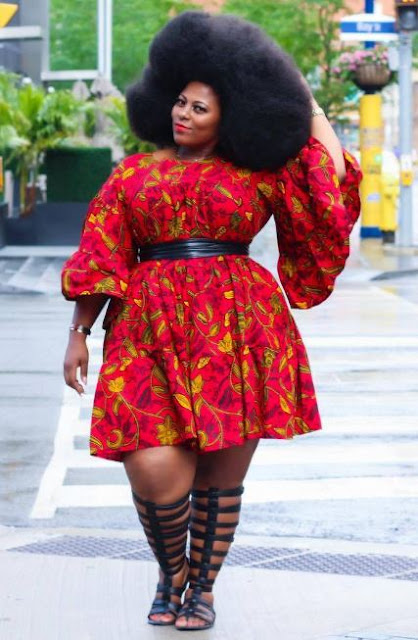 Plus Size Dresses: Check Out These Big Women Fashion Style Pics