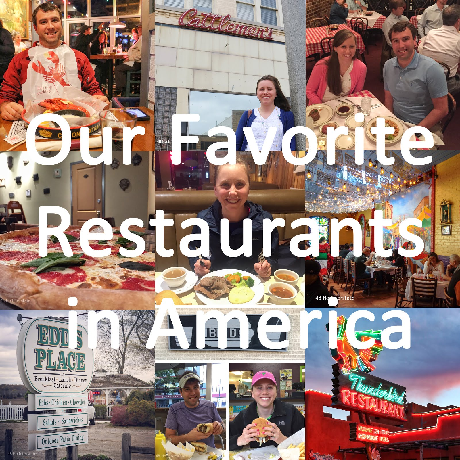Our Favorite Restaurants