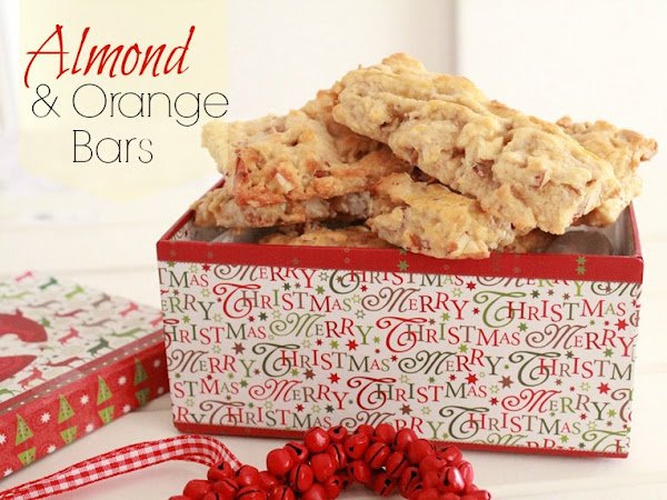 Almond And Orange Bars