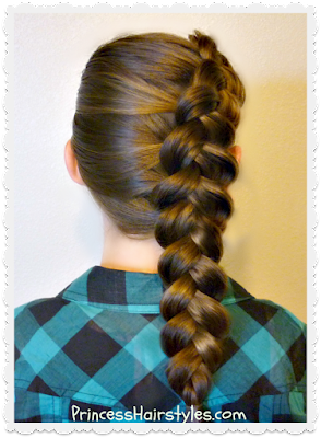 Cute side dutch braid tutorial, for school