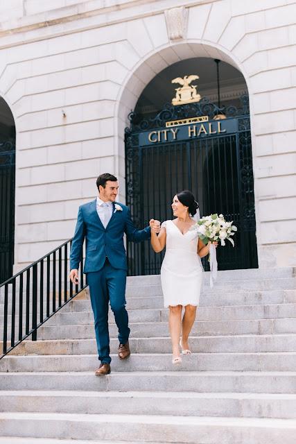 City Hall Elopement Dress