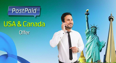 Telenor USA, Canada and UK Postpaid Offer