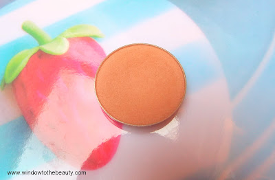 Makeup Geek Creme Brulee project pan