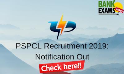 PSPCL Recruitment 2019: Notification Out