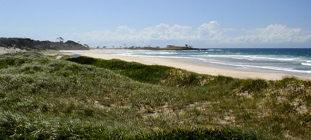 Iluka Beach, New South Wales, Australia. Photo by Loire Valley Time Travel.