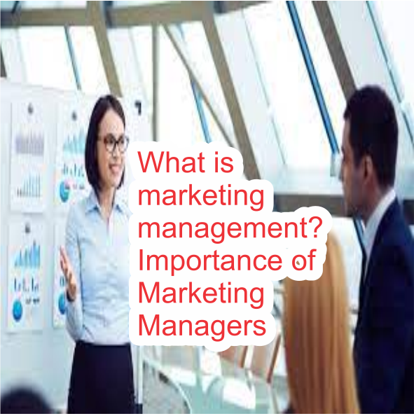 What is marketing management? Importance of Marketing Managers