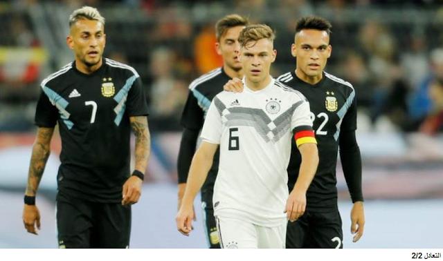 مباراة المانيا والأرجنتين 2-2