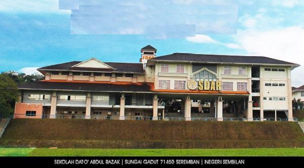 Sekolah Dato Abdul Razak Sungai Gadut Perokok P