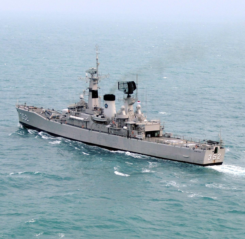 Kapal Perang Frigate Van Speijk Class