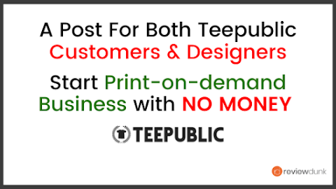 Teepublic Review - Start A Clothing Line With No Money!